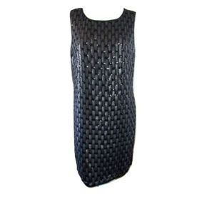 JS Collections Woven Pattern Dress 14